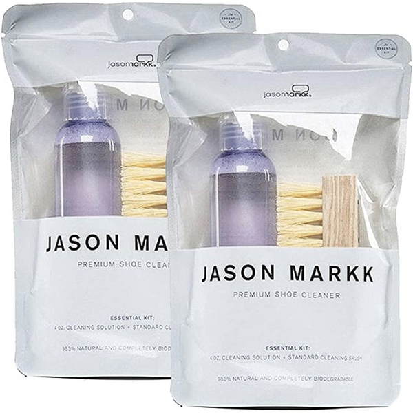 JASON MARKK UNISEX ESSENTIAL SHOE CARE KIT 2 PACK