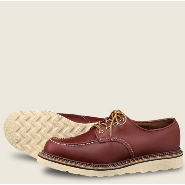 RED WING MEN'S CLASSIC OXFORD IN ORO RUSSET PORTAGE LEATHER