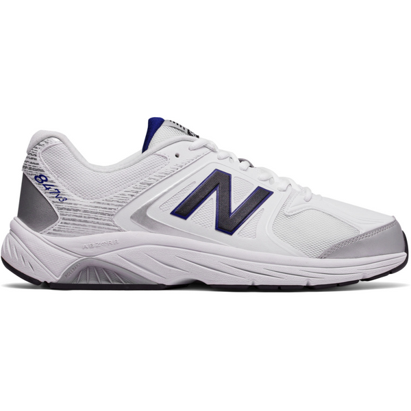 NEW BALANCE MEN'S 847V3 IN WHITE WITH GREY