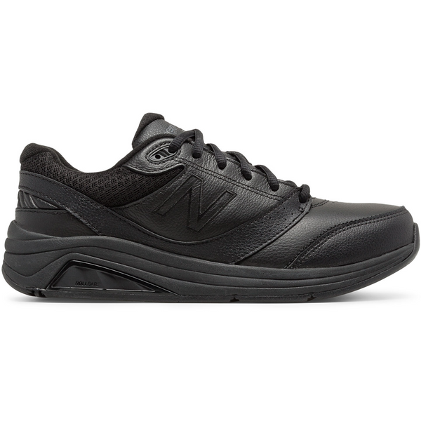 NEW BALANCE WOMEN'S 928V3 LEATHER IN BLACK