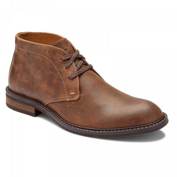 VIONIC MEN'S BOWERY CHASE CHUKKA BOOT IN BROWN