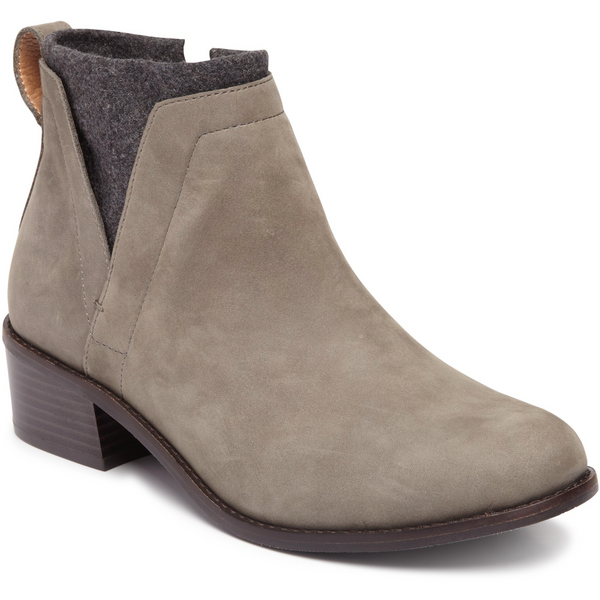 VIONIC WOMEN'S HOPE JOSLYN ANKLE BOOT IN CHARCOAL