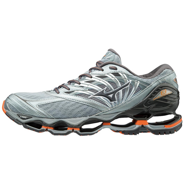MIZUNO MEN'S WAVE PROPHECY 8 IN QUARRY GRAPHITE