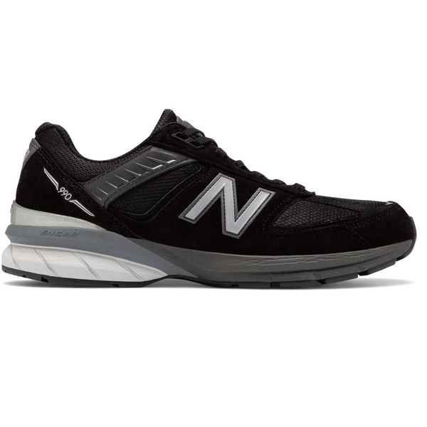 New Balance Men's 990v5 in Black Silver