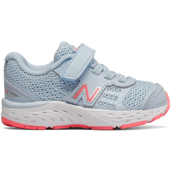 NEW BALANCE TODDLERS 680V5 VELCRO IN AIR GUAVA