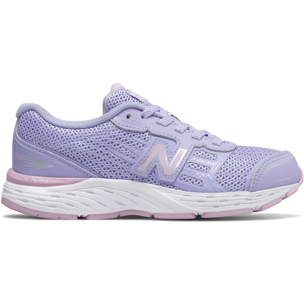 NEW BALANCE KIDS 680V5 IN CLEAR AMETHYST