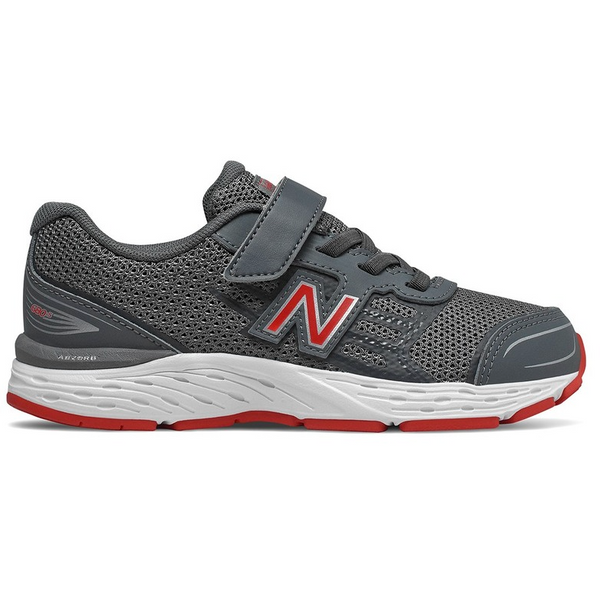 NEW BALANCE KIDS 680V5 IN STEEL RED