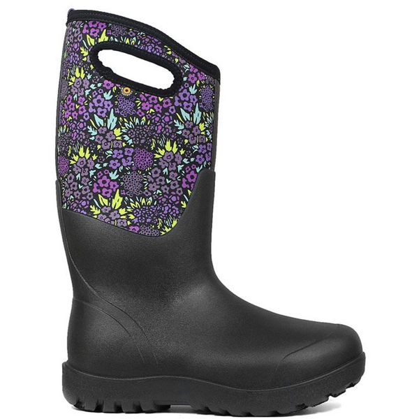 BOGS WOMEN'S NEO CLASSIC TALL NW FARM BOOT IN BLACK MULTI
