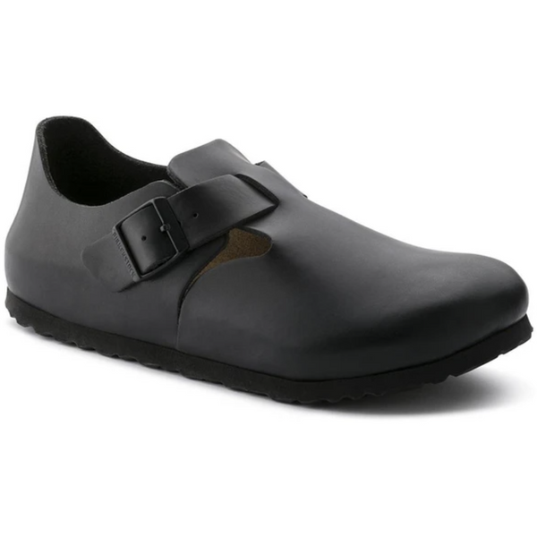 Birkenstock Men's London Soft Footbed in Hunter Black