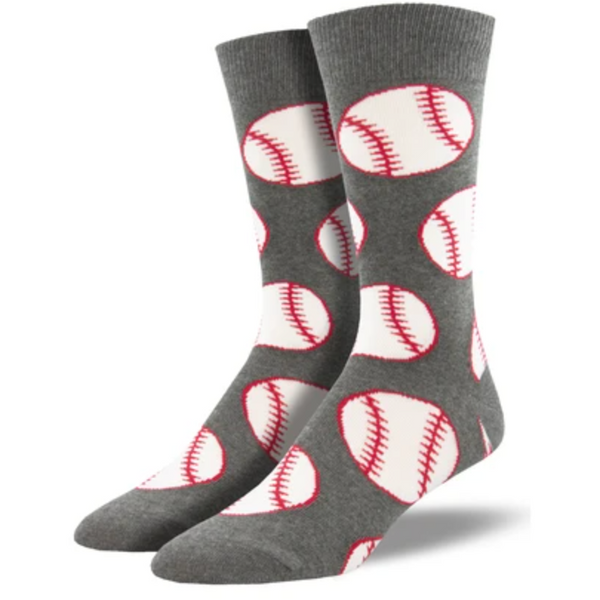 "SOCK SMITH BALL NO BS - ""OUT TO THE BALLGAME"" SOCKS"