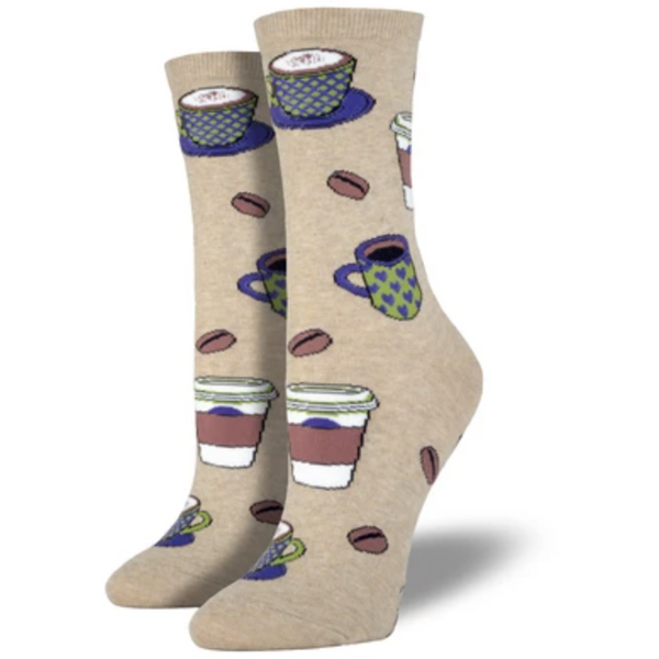 "SOCK SMITH BALL NO BS - ""LOVE YOU A LATTE"" SOCKS"