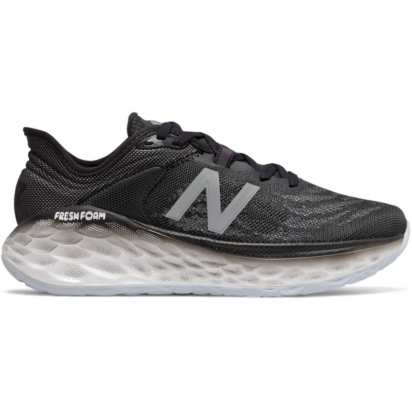 NEW BALANCE WOMEN'S FRESH FOAM MORE V2 IN BLACK OUTERSPACE