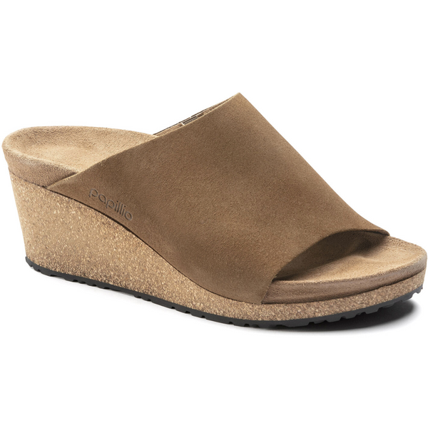 BIRKENSTOCK WOMEN'S NAMICA SUEDE LEATHER IN TEA