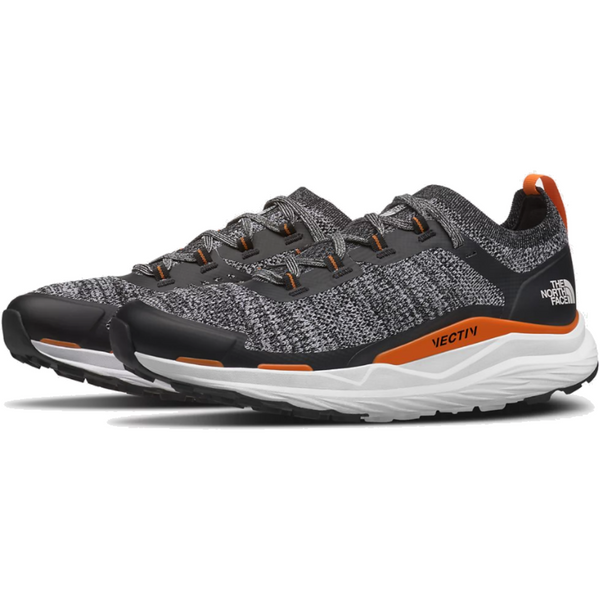 The North Face Men's Vectiv Escape Trail Running Shoe in TNF White/TNF Black