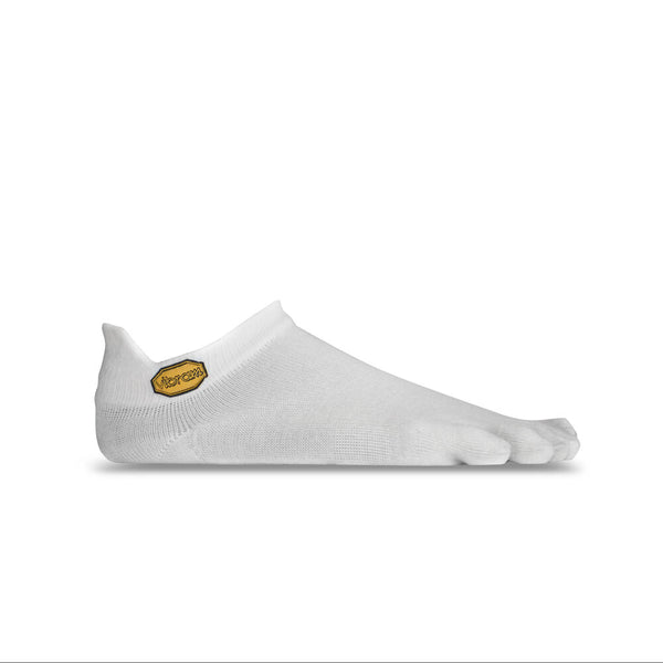 Vibram 5Toe Athletic No Show Socks in White