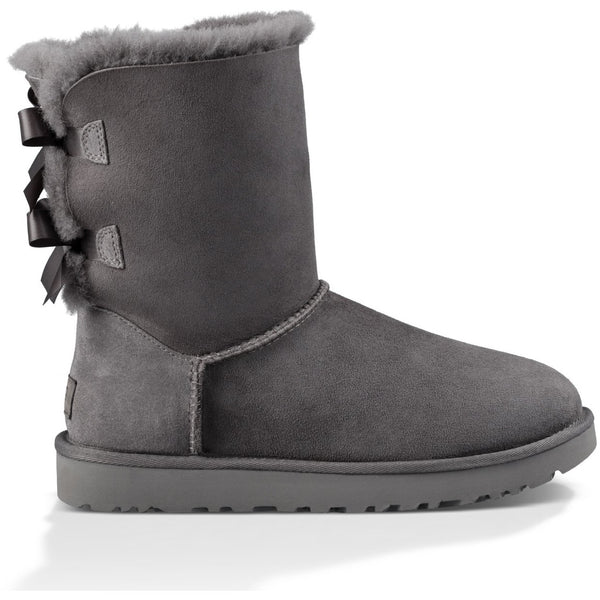 UGG WOMEN'S BAILEY BOW II BOOT IN GREY