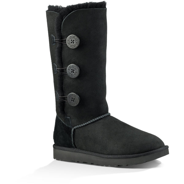 UGG WOMEN'S BAILEY BUTTON TRIPLET II BOOT IN BLACK