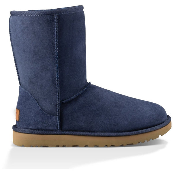 UGG WOMEN'S CLASSIC SHORT II BOOT IN NAVY