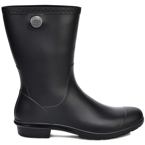 UGG WOMEN'S SIENNA MATTE RAIN BOOT IN BLACK