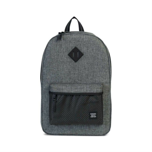 HERSCHEL HERITAGE BACKPACK IN RAVEN BLACK