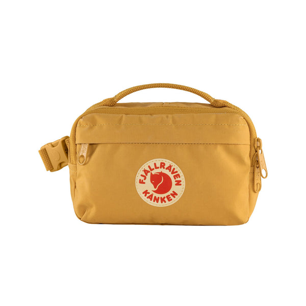 FJALLRAVEN KANKEN HIP PACK IN OCHRE