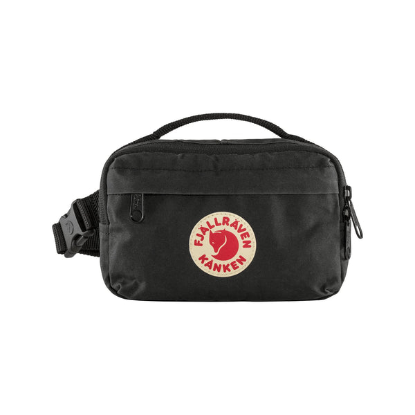 FJALLRAVEN KANKEN HIP PACK IN BLACK