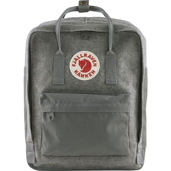 Fjallraven Kanken Re-Wool Backpack in Granite Grey
