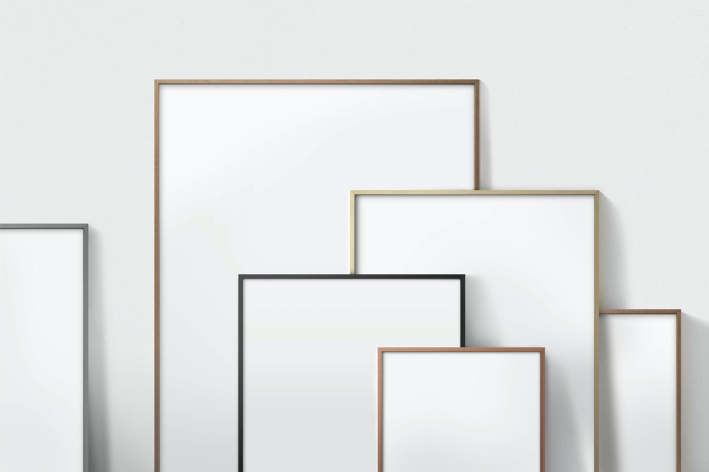 Modern picture frames from Vossington