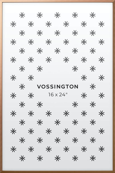 16x24 Frame - Exclusive Bronze Poster Frame From Vossington