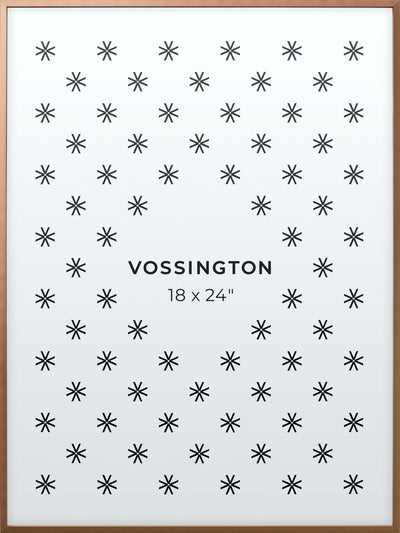 18x24 Frame - Exclusive Bronze Poster Frame From Vossington