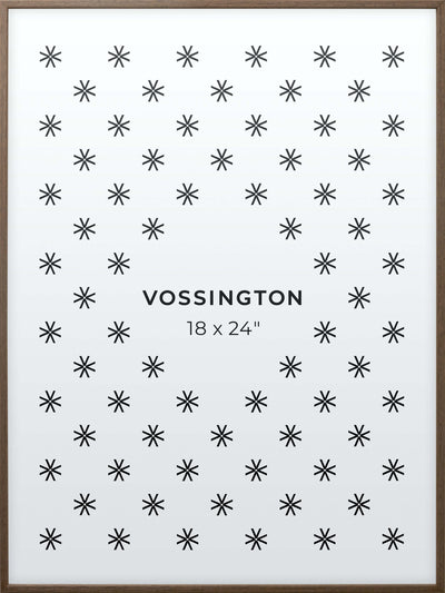 18x24 Frame - Exclusive Exotic Wood Poster Frame From Vossington