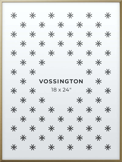 18x24 Frame - Exclusive Gold Poster Frame From Vossington