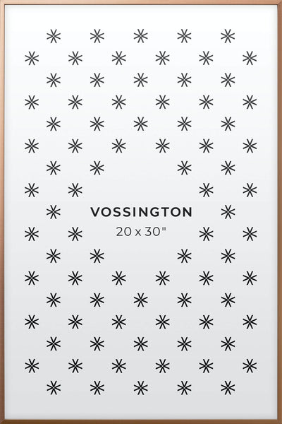 20x30 Frame - Exclusive Bronze Poster Frame From Vossington
