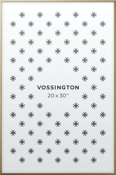 20x30 Frame - Exclusive Gold Poster Frame From Vossington
