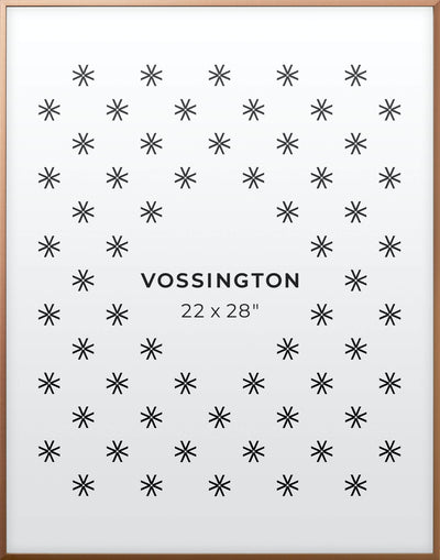 22x28 Frame - Exclusive Bronze Poster Frame From Vossington