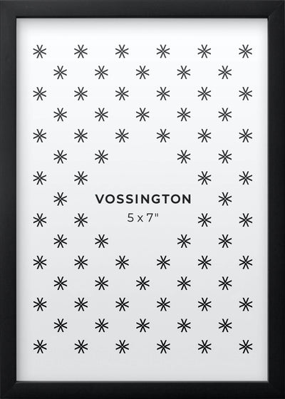 5x7 Frame - Exclusive Black Photo Frame From Vossington