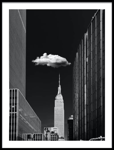 Vossington wall art and fine art photography of the Empire State Building in Manhattan, New York City