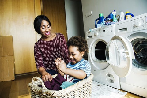 washing and disinfecting toys
