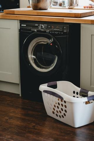 how to clean washing machine exterior