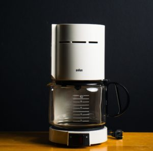 Disinfection of coffee makers