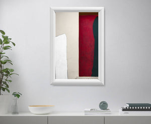 Abstraction in Red - Avanguardian Gallery London