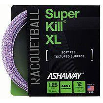 ASHAWAY SuperKill XL 1.25mm White with red/blue spiral (includes fitting)