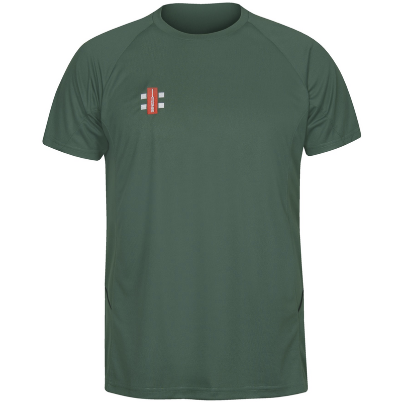 Green Moor CC Matrix training Shirt with embroidered badge