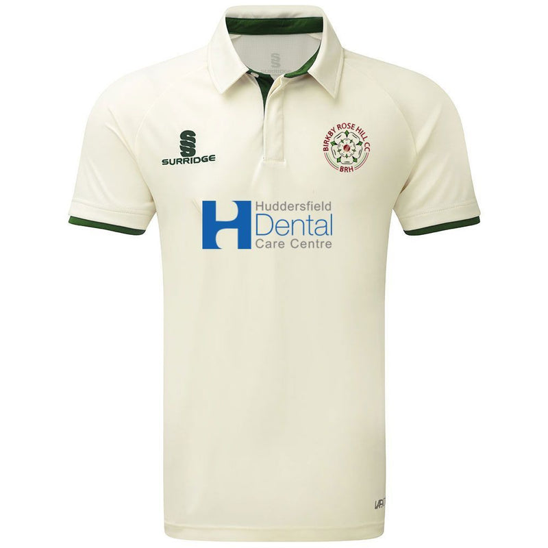 Birkby Rose Hill CC Green Playing Shirt