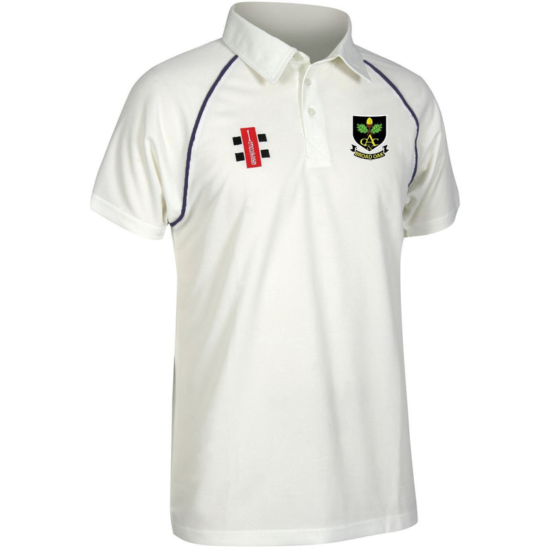 Broad Oak CC S/S Playing Shirt