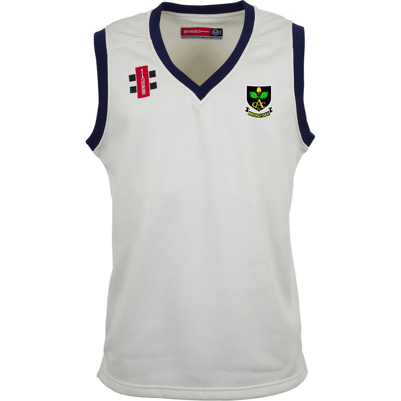 Broad Oak CC Sleeveless Playing Sweater