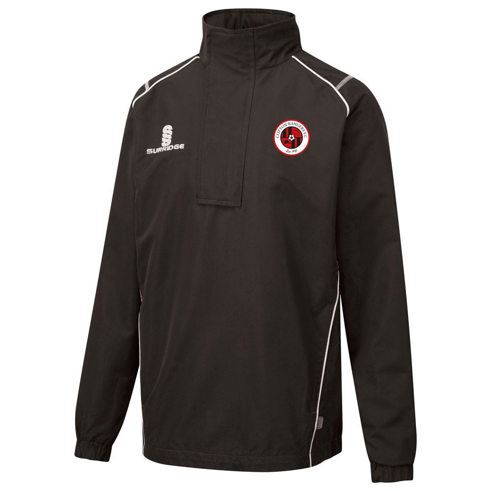 Clifton Rangers Black Rain Jacket