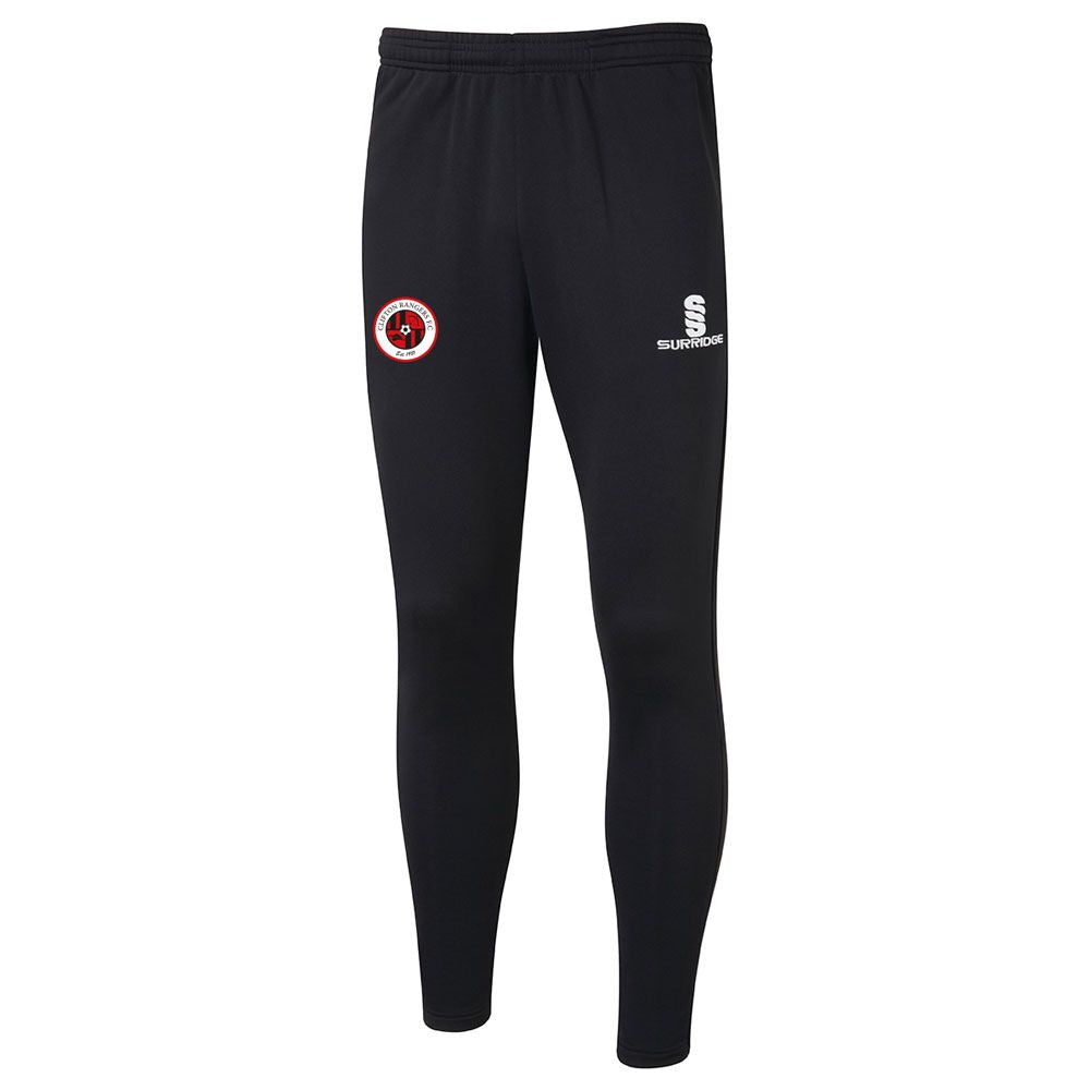 Clifton Rangers Black / Red  Duo Tec Pants