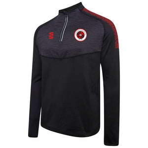 Clifton Rangers Black / Red Performance Top