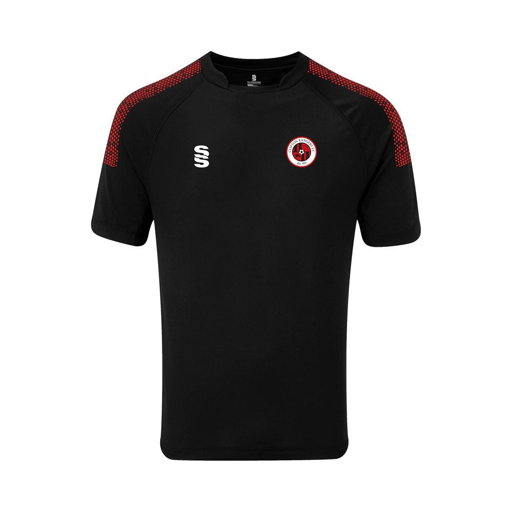 Clifton Rangers Black / Red Training Shirt